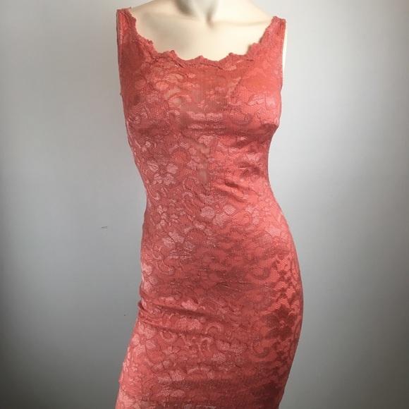 Kimikal Dresses & Skirts - Kimikal pink lace Bodycon dress